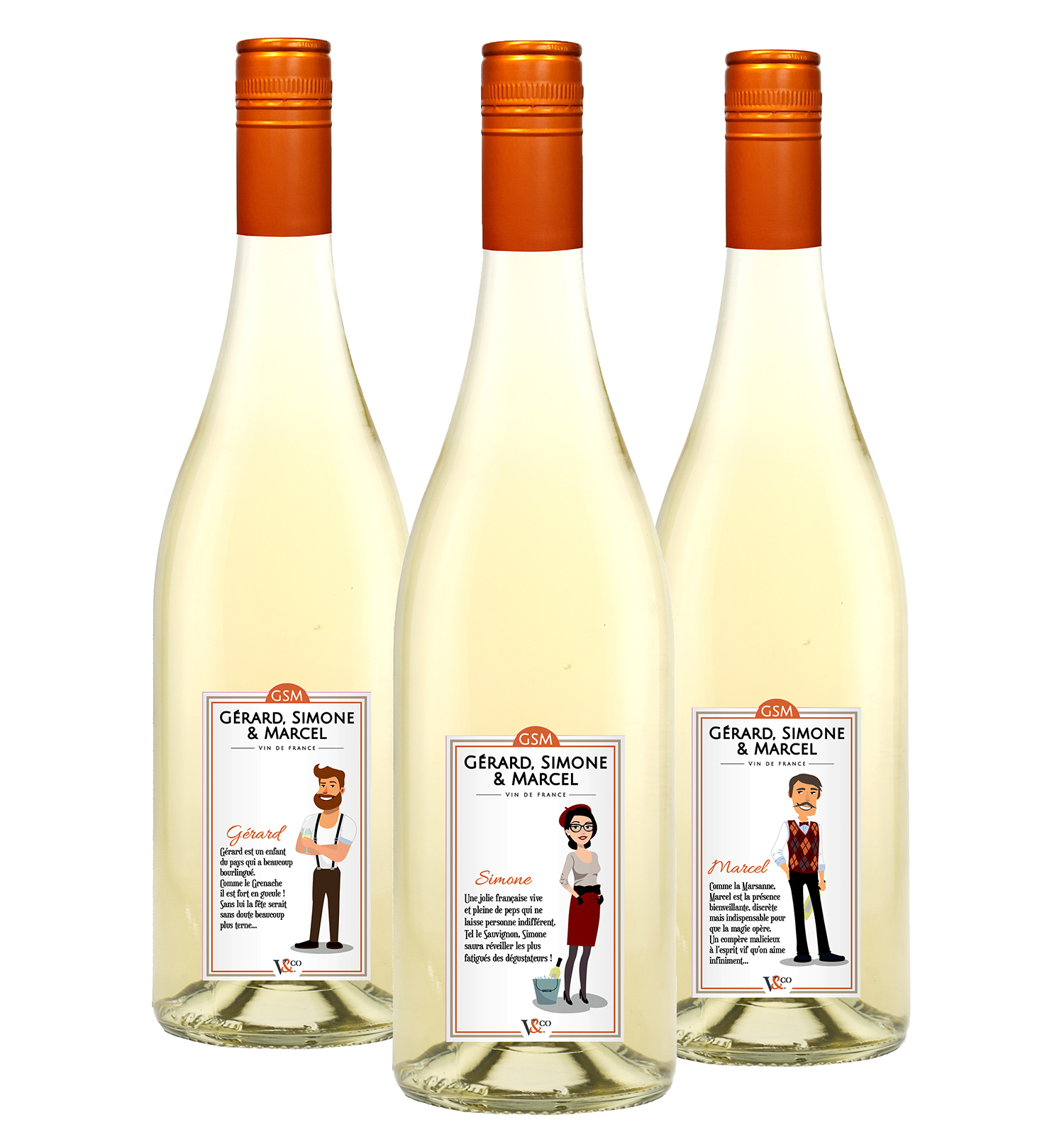 <b>Packaging</b> <br><i>Vignobles & Compagnie</i>