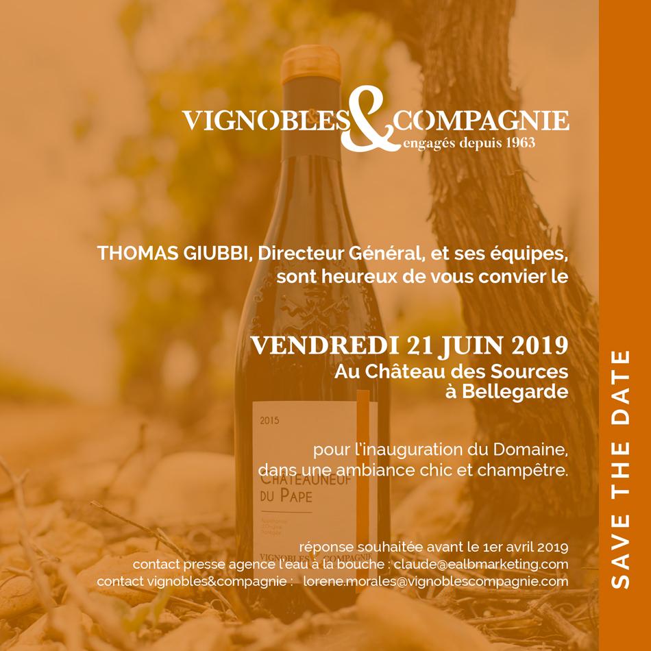 <b>Dossier de presse</b> <br><i>Vignobles & Compagnie</i>