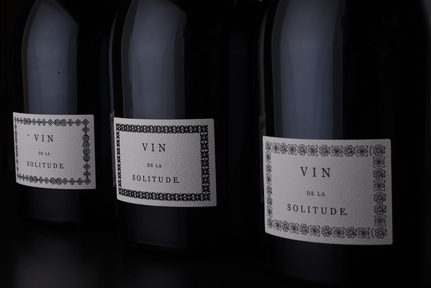 <b>Packaging</b> <br><i>Domaine de la Solitude</i>