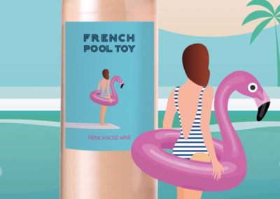 Packaging French Pool Toy